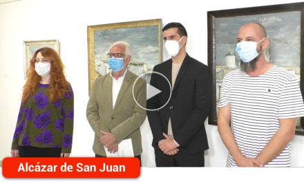 La exposición 'Manchego del alma viva' que conmemora el XV aniversario del fallecimiento de José Luis Samper recorre todas sus facetas artísticas
