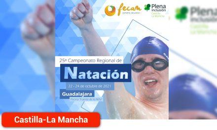 El 25º Campeonato Regional de Natación vuelve a Guadalajara