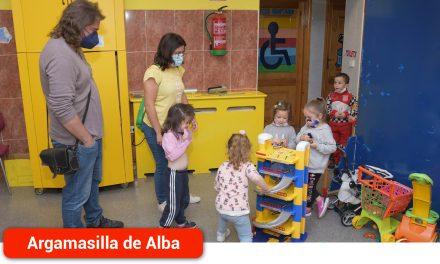 Comienza el curso de las Aulas Corresponsables de Pequeteca-Ludoteca