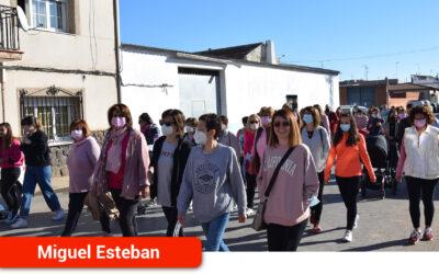 Movilización contra el cáncer de mama