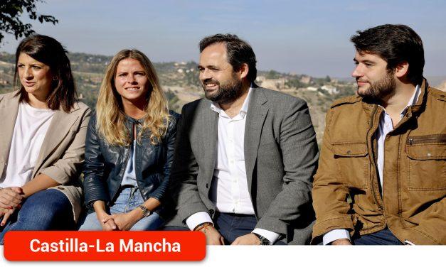 """Núñez pide a Page que """"reserve"""" el 30%  de los Planes de Empleo de la Junta para la contratación de jóvenes en empresas privadas"""