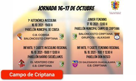 Baloncesto Criptana inicia la competición de 1ª Autonómica Masculina