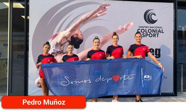 La selección de CLM de Gimnasia Rítmica, con Olivia Izquierdo Alcaide, cosecha buenos resultados en los Campeonatos de España en Edad Escolar