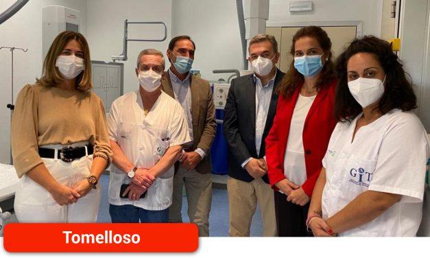 El Gobierno regional potencia el Servicio de Radiodiagnóstico del Hospital de Tomelloso con modernos equipos de alta tecnología