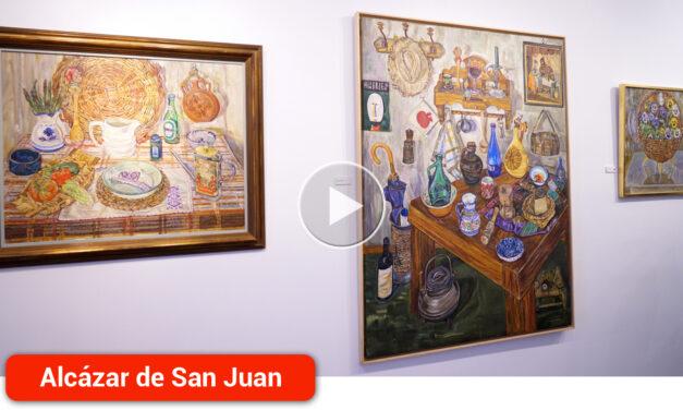 Marmurán recupera el color y el particular mundo de la pintora Esperanza Huertas con la exposición 'El enigma de lo cotidiano'